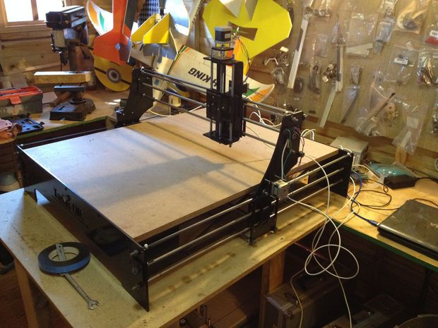 Picture of CNC Laser Cutter Journey