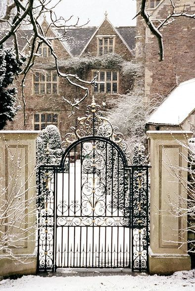 105 best fences and gates images on pinterest entrance Tudor style fence