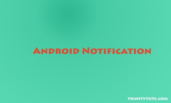 notification using NotificationCompat.Builder in android