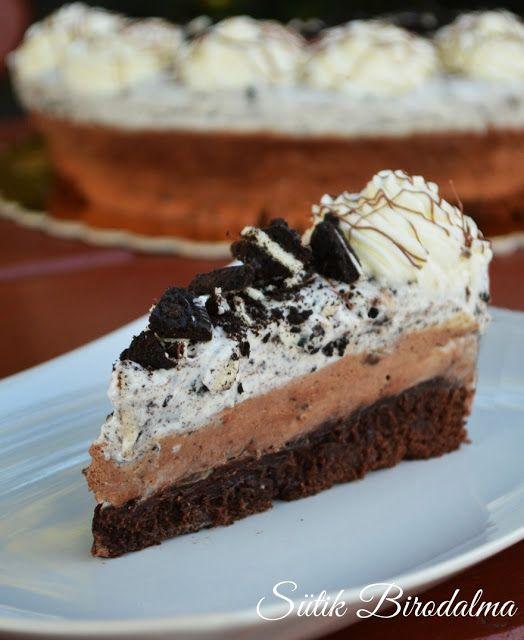 SÜTIK BIRODALMA: Oreos-csokoládés mousse torta