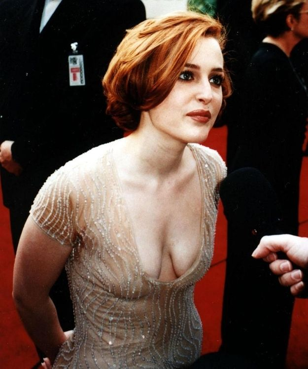 Young gillian anderson nipples — img 14