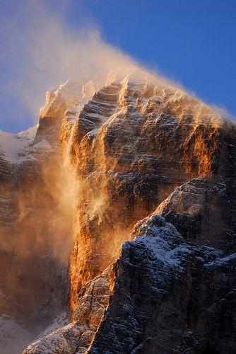 Tofana di Rozes - Pomeriggio ventoso, province of Belluno , Veneto