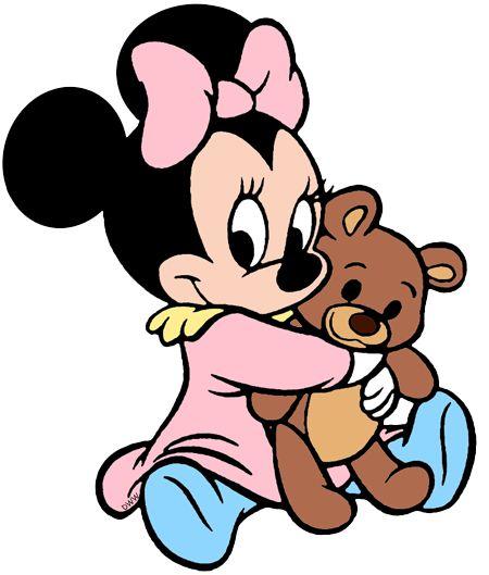 Resultado de imagem para imagens da minnie baby com o for Immagini pluto baby