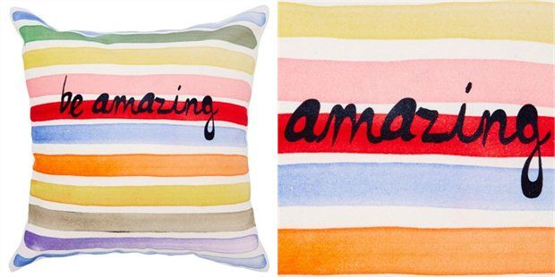 Expressions Pillow – Be Amazing