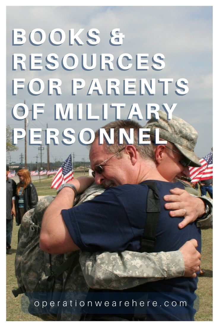 Books & resources for parents of military personnel #AirForce #Army #MarineCorps #Navy