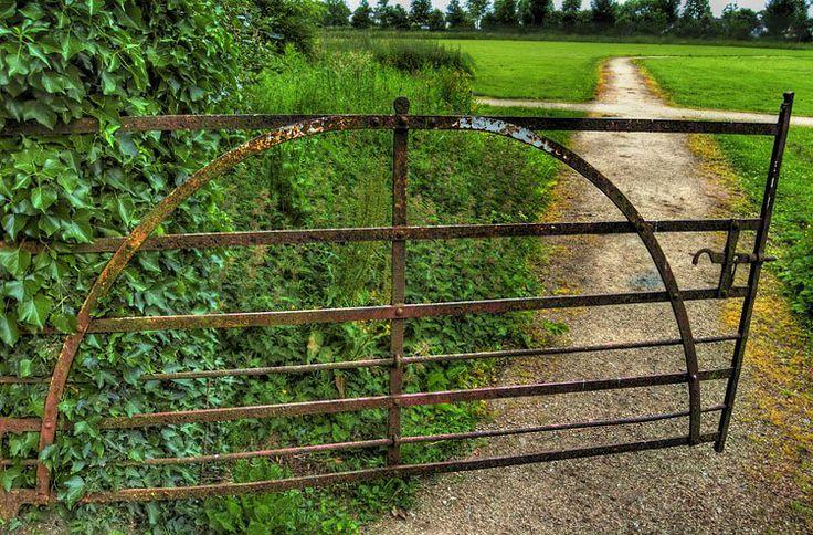 Old farm gate - County Kildare, Ireland.