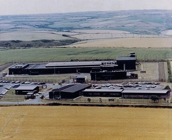 US Naval Facility, Brawdy, Pembrokeshire, Wales, UK    (former home of remote SOSUS station)