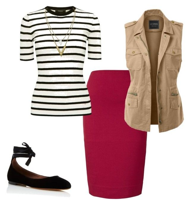"""""""Untitled #191"""" by carrieveland on Polyvore featuring Winser London, Theory, LE3NO and Tabitha Simmons"""