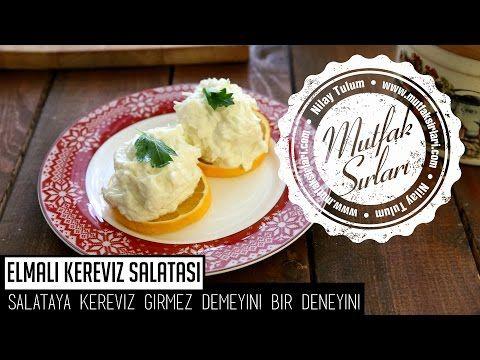 Elmalı Kereviz Salatası Tarifi   Mutfak Sırları