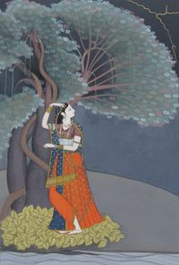 The Tradition of Kangra Miniature Painting | Prince's School of Traditional Arts