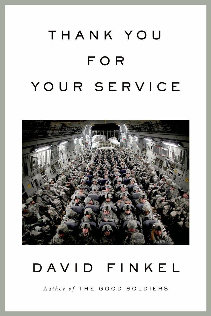 Thank You for Your Service  by David Finkel ($12.99) http://www.amazon.com/Thank-You-for-Your-Service/dp/B00BIV551E%3FSubscriptionId%3D%26tag%3Dhpb4-20%26linkCode%3Dxm2%26camp%3D1789%26creative%3D390957%26creativeASIN%3DB00BIV551E&rpid=kh1391705016/Thank_You_for_Your_Service