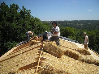 isolation de toiture paille                                                                                                                                                                                 Plus