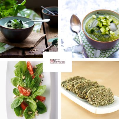 4 recetas con Spirulina. 4 spirulina recipes.