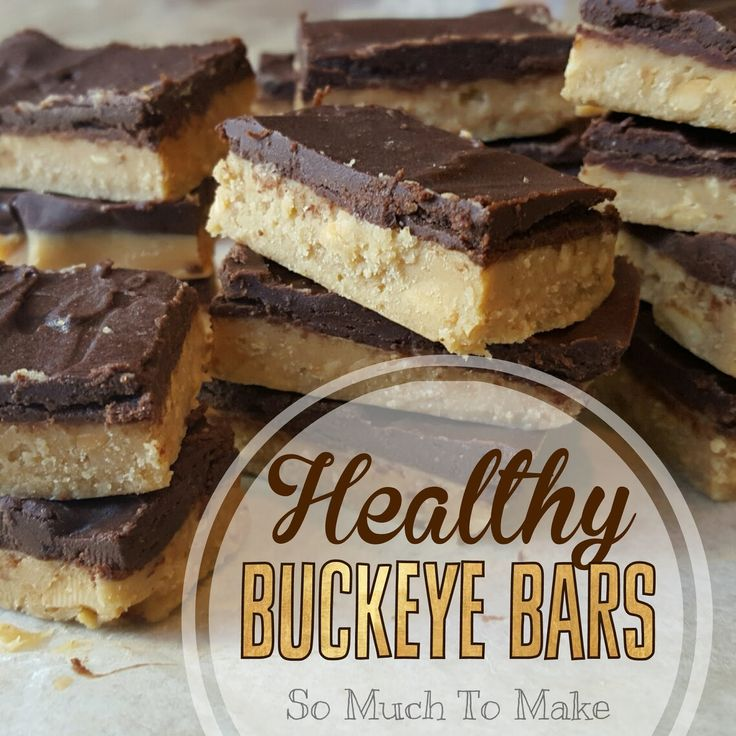 I know, HEALTHY BUCKEYE sounds like an oxymoron, but these aren't your grandma's buckeyes. Healthy ingredients like coconut oil, natura...