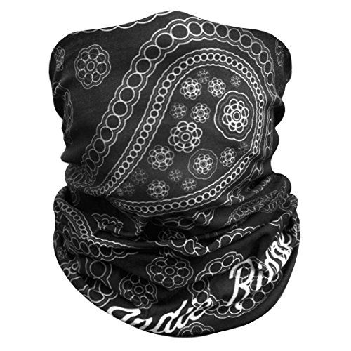 Paisley Outdoor Face Mask Buff By IndieRidge - 100% Microfiber Multifunctional Seamless Headwear 11+ Ways to Wear for Motorcycle Hiking Cycling Ski Snowboard Lifetime Warranty, Great Father's Day Gift - http://www.caraccessoriesonlinemarket.com/paisley-outdoor-face-mask-buff-by-indieridge-100-microfiber-multifunctional-seamless-headwear-11-ways-to-wear-for-motorcycle-hiking-cycling-ski-snowboard-lifetime-warranty-great-fathers-day-gift/  #100, #Buff, #Cycling, #Face, #Fathe