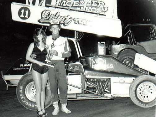 1981 Sprint Car History Sammy Swindell Steve Kinser Ron