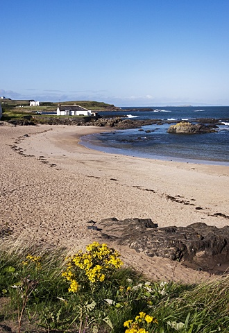 Quite possibly my favourite place on earth, the 'wee' beach at Portballintrae