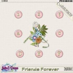Friends Forever Alphabet
