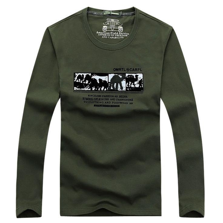 Печатных Майка Мужчины С Длинным Рукавом Хлопок дворец бренд одежды о-образным вырезом Мужские Футболки Мода 2016 Повседневная Полный Бренд Т рубашка