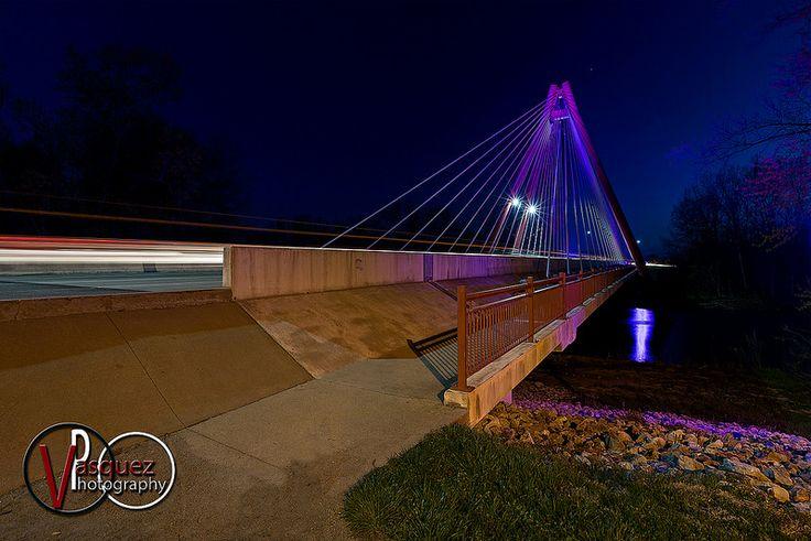 Second Street Bridge Columbus, Indiana ©Vasquez Photography 2014 Photo Gallery: http://www.tonyvasquez.net/Columbus-Indiana/Columbus-Indiana/ #ColumbusIndiana #VasquezPhotography