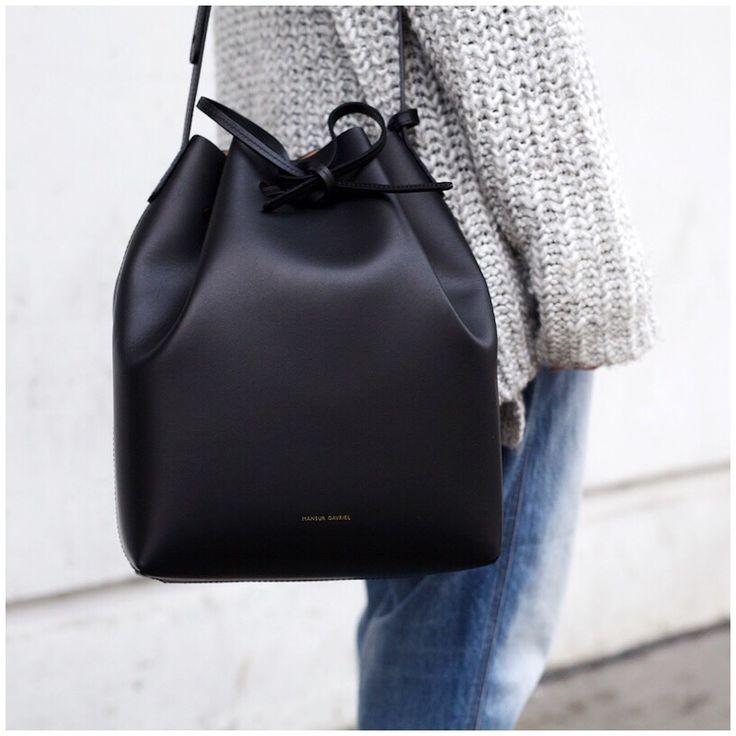 Pre-owned - Leather clutch bag Mansur Gavriel 9exP0YCADs