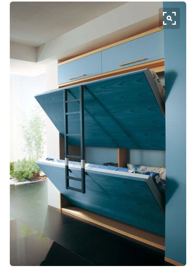 More Secret Bunk Beds It S A Small World Pinterest