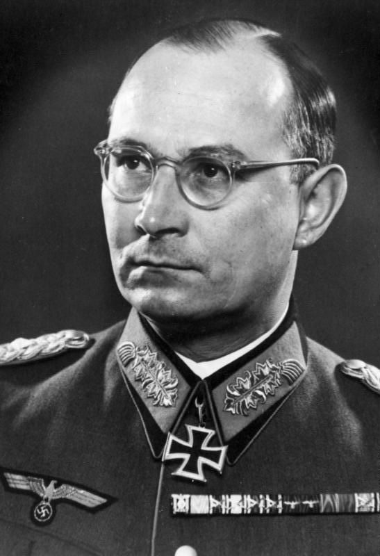 Friedrich Olbricht (1888-1944) was a German general who developed the plan for Operation Valkyrie, ostensibly to put down internal unrest, but in fact as a coup d'état. Together with resistance circles around other generals, he worked to find a means of assassinating Adolf Hitler and ending the Nazi regime. When the briefcase bomb failed to kill Hitler on July 20, 1944, Olbricht was arrested and executed at his headquarters in the Bendlerblock despite Hitler's orders to take the plotters…