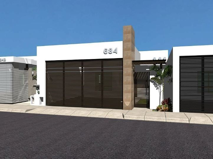 Fachadas de casas pequeñas modernas #casaspequeñasminimalistas #fachadasmodernas