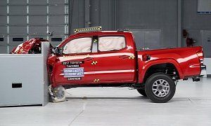 Small Pickup Trucks Are Getting Safer But Theres Room For Improvement :  In the past few years small  pickup trucks  made a comeback in the United States of America where the F-Series is king of the hill since times immemorial. And as demand keeps on rising for this particular kind of workhorse automakers lend an ear to what the Insurance Institute for Highway Safety has to say when it comes down to driver and passenger safety in a crash situation.   21 photos  As per the latest round of…
