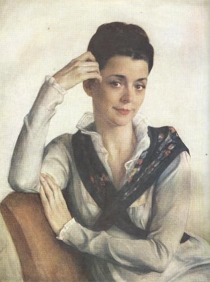Портрет жены, Анны Степановны Сориной