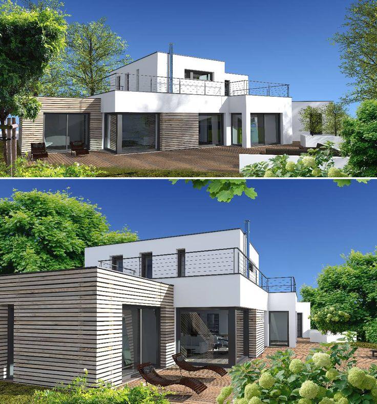 Maison Toit Plat sur Pinterest  Toit Plat, Plan Maison Contemporaine ...