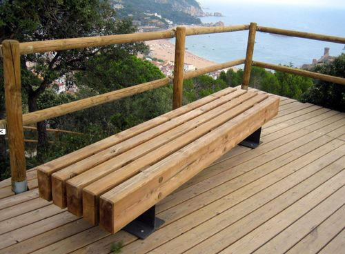 16 best banc images on Pinterest | Benches, Wooden benches and ...