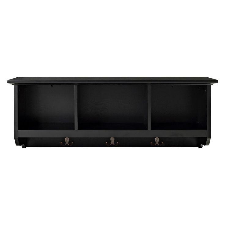 Danya B Entryway Storage Shelf With Baskets And Hooks Brown Entryway Storage Shelf Entryway Storage Basket Shelves