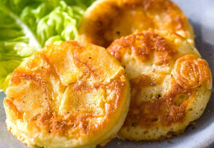 Lire la recette des mini crêpes au camembert