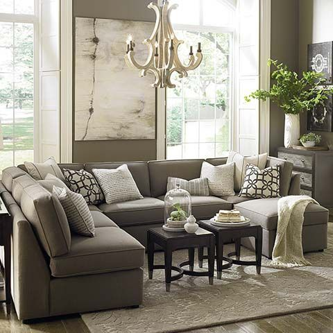 Living Room Decor: Neutral Living Room Decor