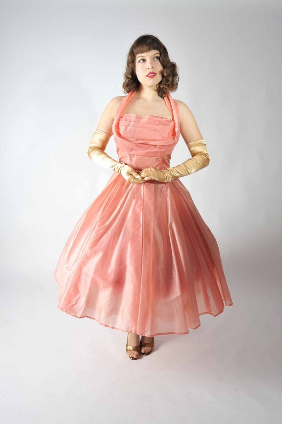 Vintage 1950s Party Dress // Party Dresses at Fab Gabs by FabGabs, $248.00
