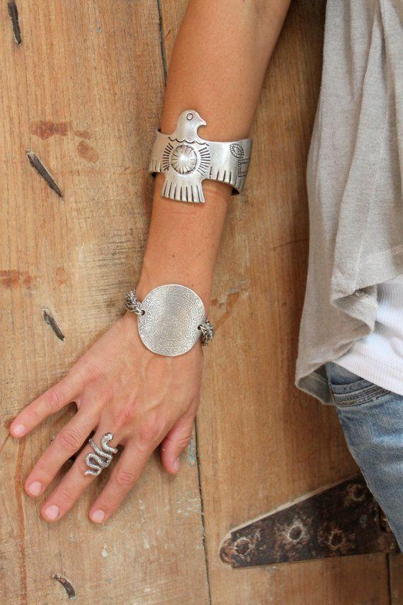 Bracelet réglable de Multi ligne-chaine Antique par handmadebyinali