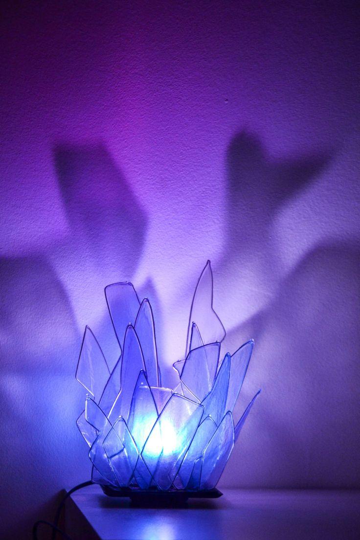 lampada cristallo di fiorediluce su Etsy