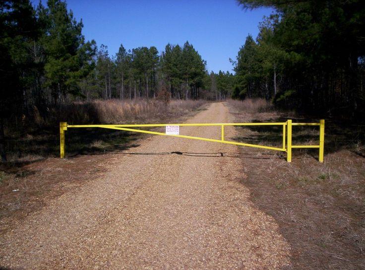 Metal pipe gates steel road farm pinterest