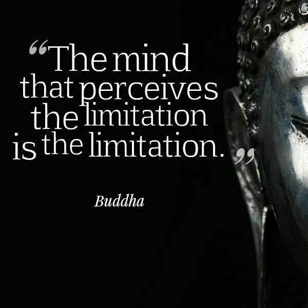 "Learn instead to see ""limitations"" as opportunities ... to adjust your approach .... to redirect your intention ... to reinterpret your dreams ... to realign with what is truly important ... to grow expansively"