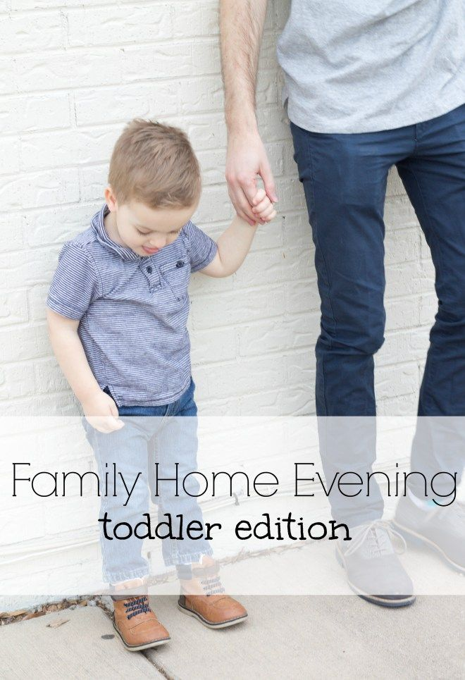 Here Is The Second Lesson For Family Home Evenings With Your Toddlers So Simple