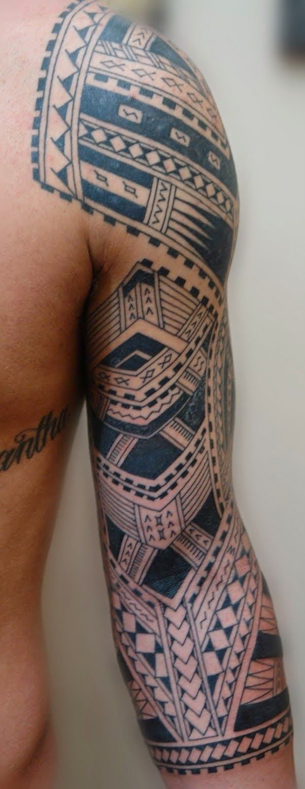 The tribal tattoo design has been popular among women and men, but the Maori tribal tattoo design has gained it's popularity recently. The Maori tattoo is Tribal Tattoos For Men, Tribal Sleeve Tattoos, Best Sleeve Tattoos, Tattoo Sleeve Designs, Trendy Tattoos, Body Art Tattoos, New Tattoos, Tattoos For Guys, Cool Tattoos