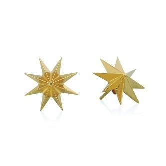 Spike burst earrings