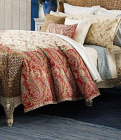 Lauren Ralph Lauren Mirabeau Paisley Bedding Collection