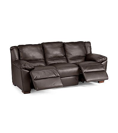 Natuzzi Editions® Genoa Brown Leather Reclining Sofa | Younkers  sc 1 st  Pinterest & 126 best Natuzzi Leather images on Pinterest | Sofas Living room ... islam-shia.org