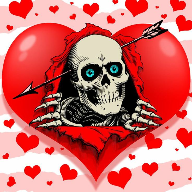 Bones brigade Valentine's (:€   Skull stuff