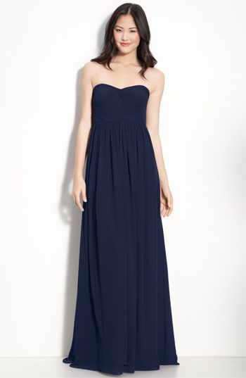 @Jessica Ortega-Ochoa Jenny Yoo Collection Convertible Strapless Chiffon Gown available at #Nordstrom