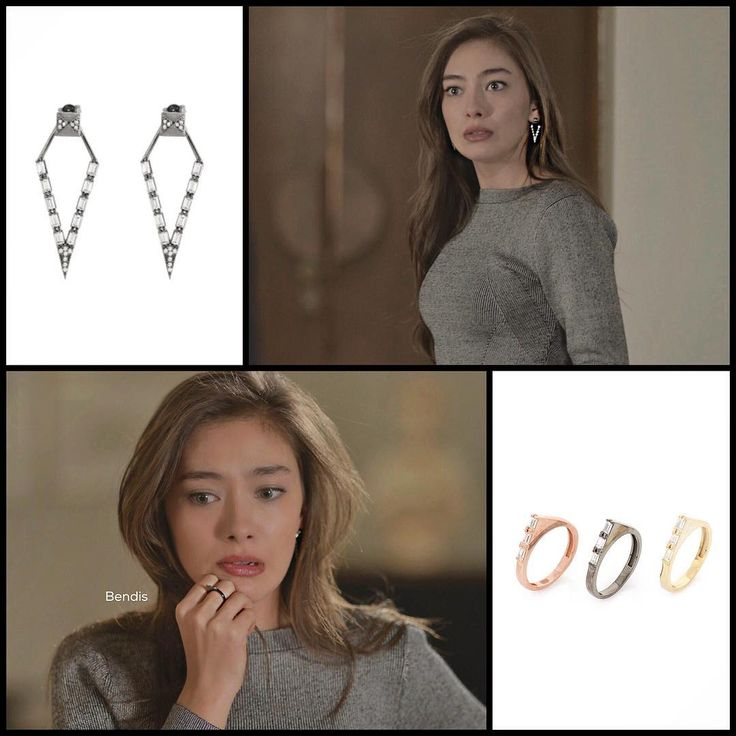 I have to order these from a different country. luckily i got a dupe for the earrings. Neslihan Atagul as Nihan in Kara Sevda