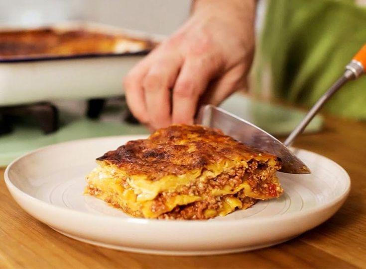 Gennaro Contaldo's Lasagne Recipe. Gennaro Contaldo's lasagne is a classic Italian lasagne.This recipe serves 4 people and will take around 2hrs and 40 mins