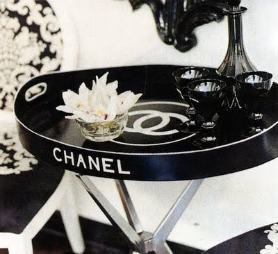 chanel tray diy: Trays, Decor, Interior, Side Table, Coco Chanel, Idea, Chanel Tray